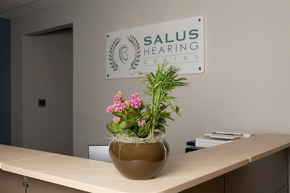 Salus Reception Desk
